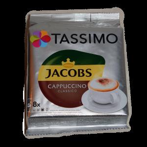 TASSIMO Jacobs Cappuccino Classico (2×8)