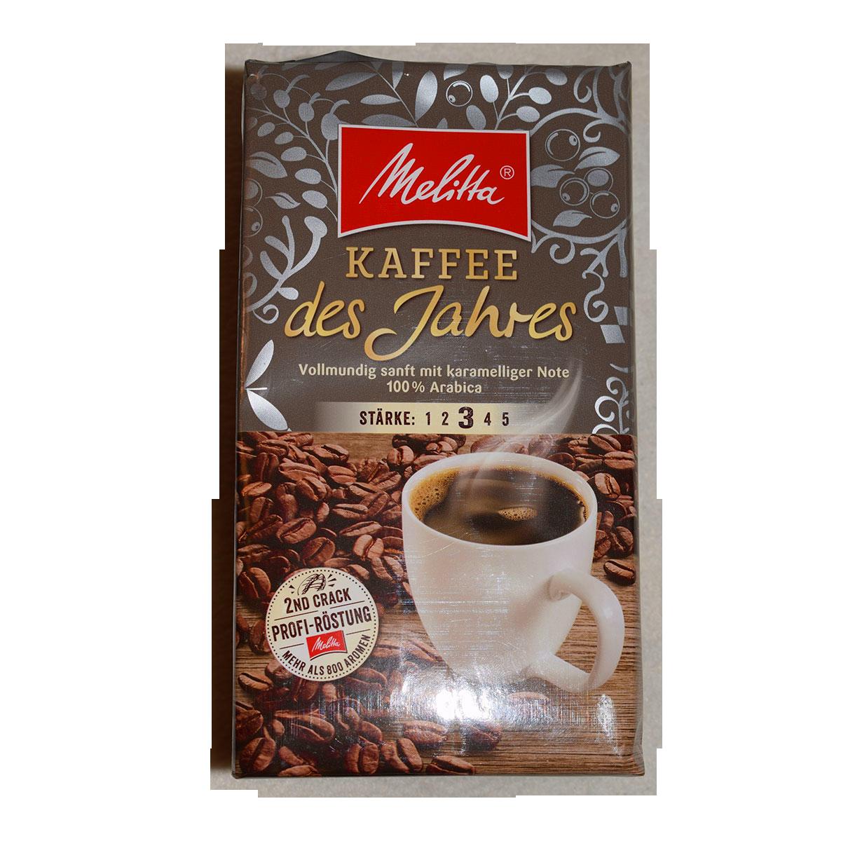 Melitta Kaffee Des Jahres 500g