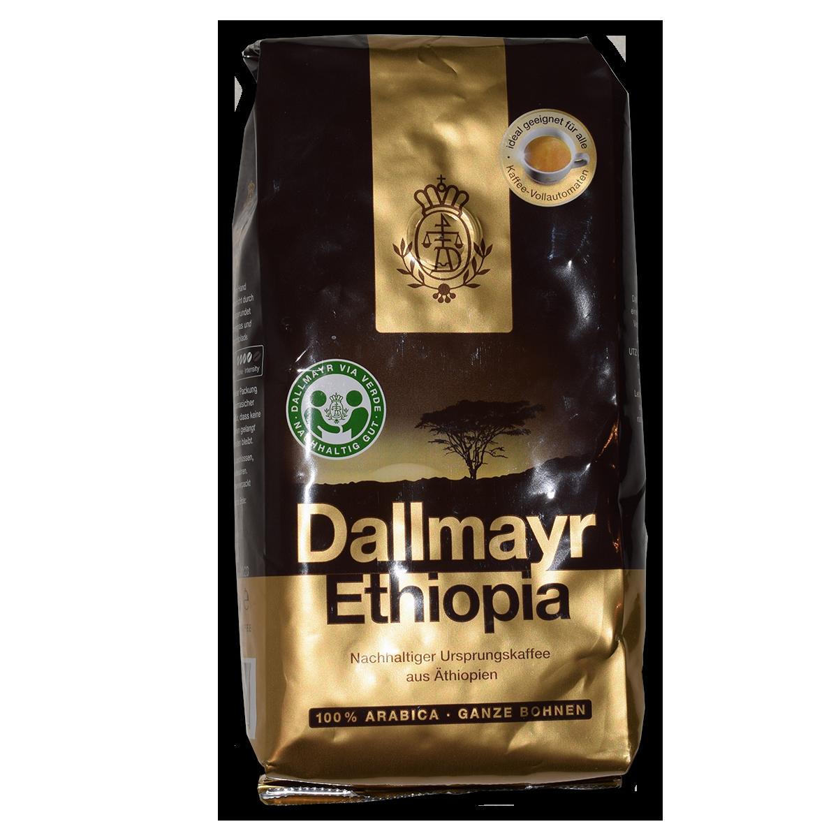 Dallmayr Ethiopia Ganze Bohnen 500g