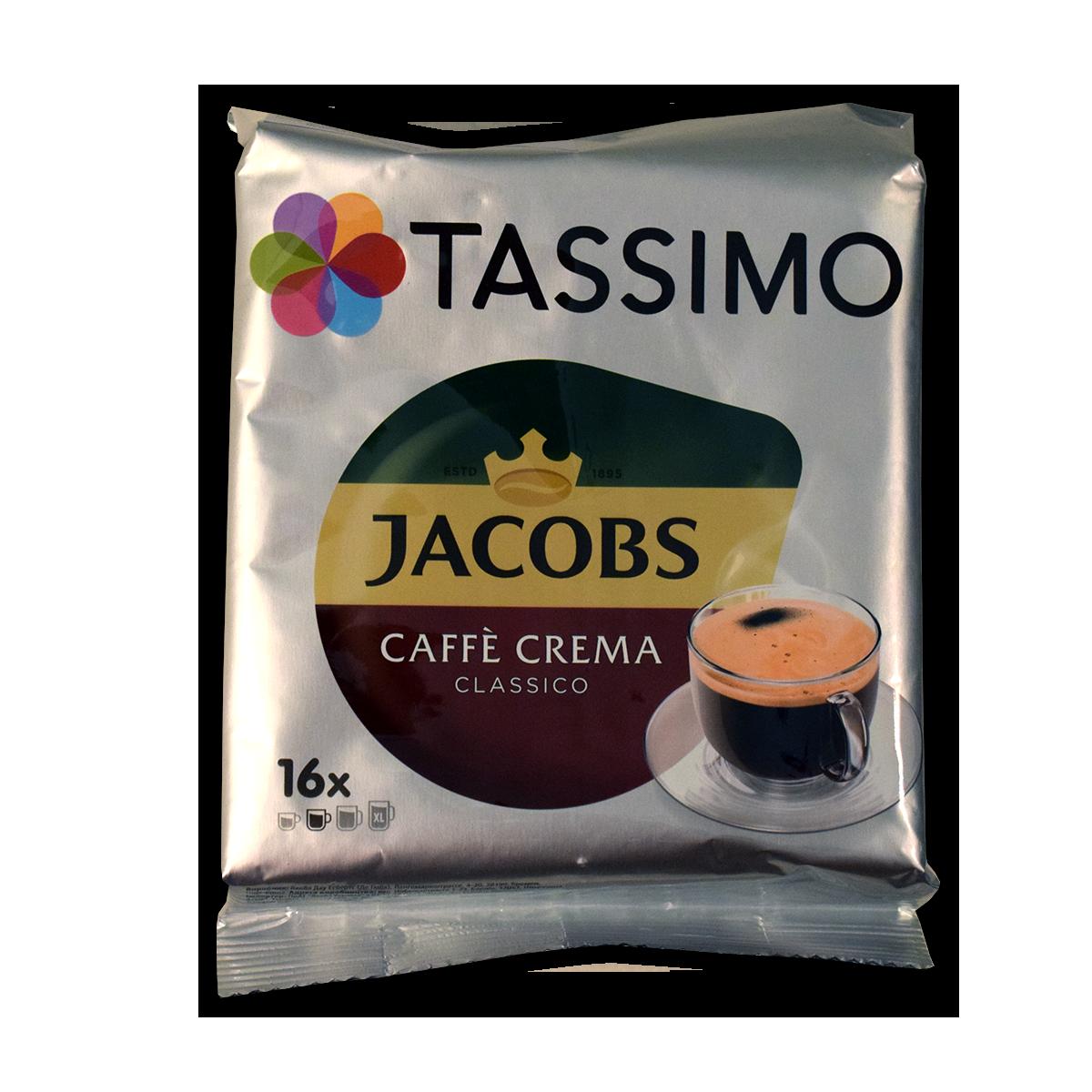 Jacobs Tassimo Cafe Crema Classico 112g